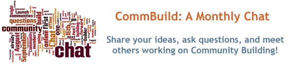 Post image for January 2011 Community Builder Chat Archive #CommBuild